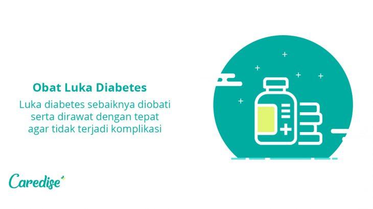 Obat luka diabetes aman agar luka cepat sembuh