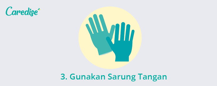 Cara mengobati luka bernanah dengan menggunakan sarung tangan